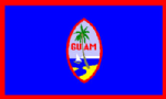 Guam Large Country Flag - 3' x 2'.